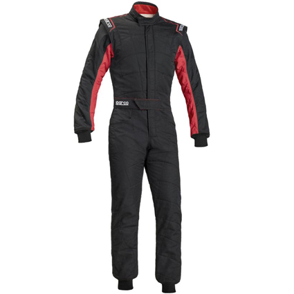 Sparco Sprint RS-2.1 Race Suit Black/Red