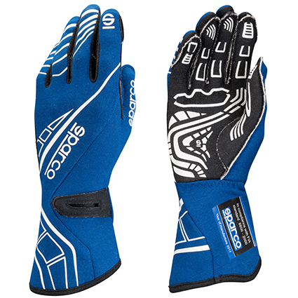 Sparco Lap RG-5 Race Gloves Blue