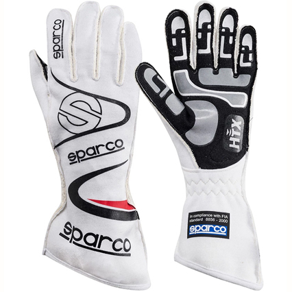 Sparco Arrow RG-7 Race Gloves White