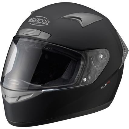 Sparco Club X1 Helmet >> Sparco Club X-1 Helmet | Sparco X1 Full Face Helmet in Black | Sparco Track day Helmet ...