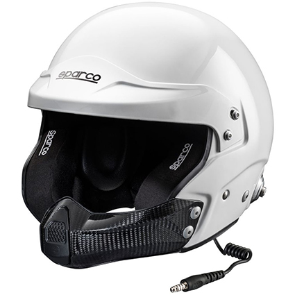 Sparco Air Pro RJ-5i White Intercom Helmet