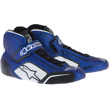 Alpinestars Tech 1-T Race Boots Blue White/Black