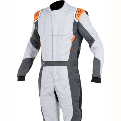 Alpinestars GP Pro Race Suit Grey Anthracite/Orange