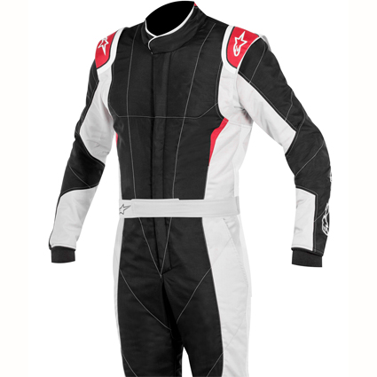 Alpinestars GP Pro Race Suit Boot Cut Black/Light Grey/Red