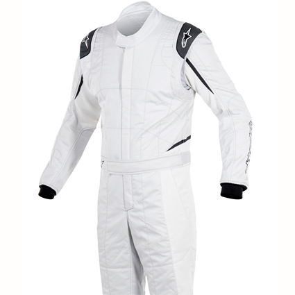 Alpinestars GP Tech Race Suit Silver/White