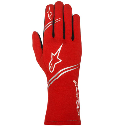Alpinestars Tech 1 Start Race Gloves Red
