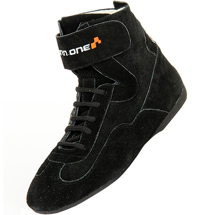 Turn One Basic Race Boots Black