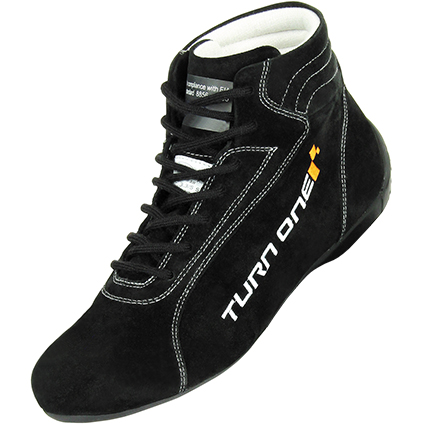 Turn One Start FIA Competition Boots Black