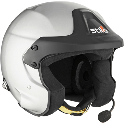 Stilo Trophy DES Rally FHR Helmet SA2015