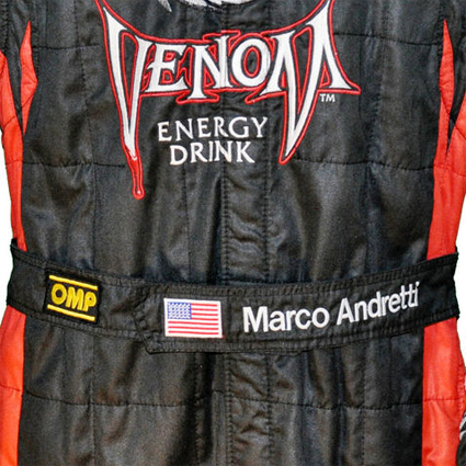 OMP Racesuit Name/Flag Embroidery/Print