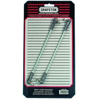 Grayston Competition Spot Lamp Steady Bars