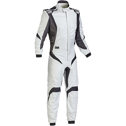 OMP One S1 Race Suit Silver/Black/Anthracite