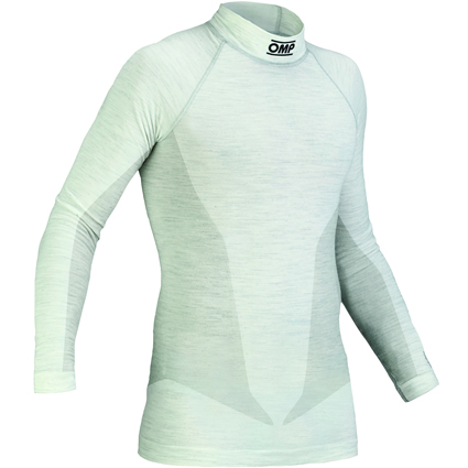 OMP One Long Sleeve Top White