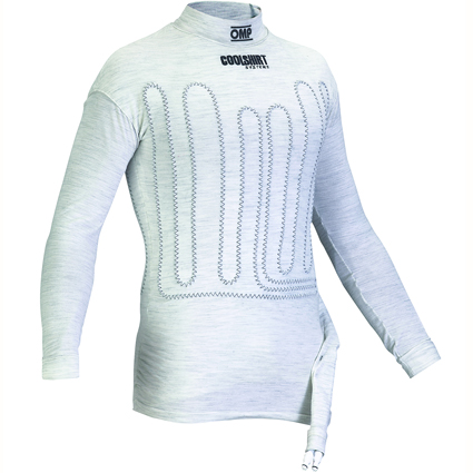 OMP One Cool Shirt Long Sleeve White