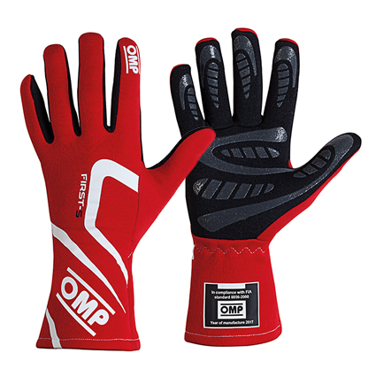 OMP First-S Gloves Red