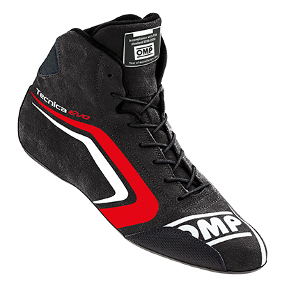 OMP Technica Evo Race Boots Black/Red
