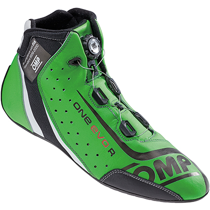 OMP One Evo Formula R Shoes Fluro Green