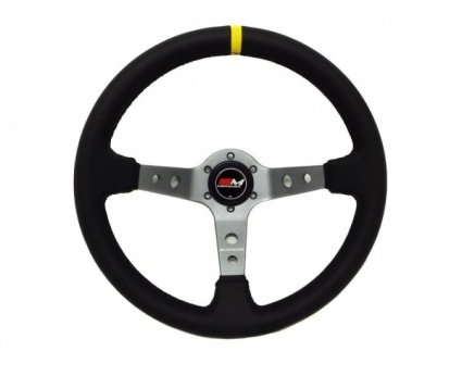 Motamec Rally Steering Wheel Deep Dish 350mm