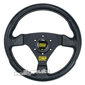 OMP Trecento Uno Wheel Black PU