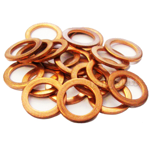 Moquip 9/16 & M14 Solid Copper Sealing Washer