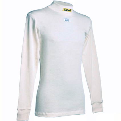 Sabelt UI-100 Nomex Long Sleeve Top White