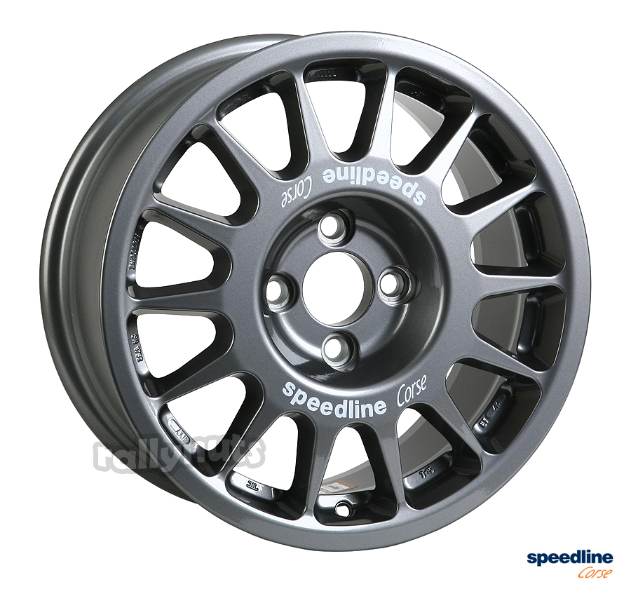 Abarth 500 0 60 >> Speedline Corse Type 2118 Wheel 7x15 Anthracite Renault Clio | Rallynuts