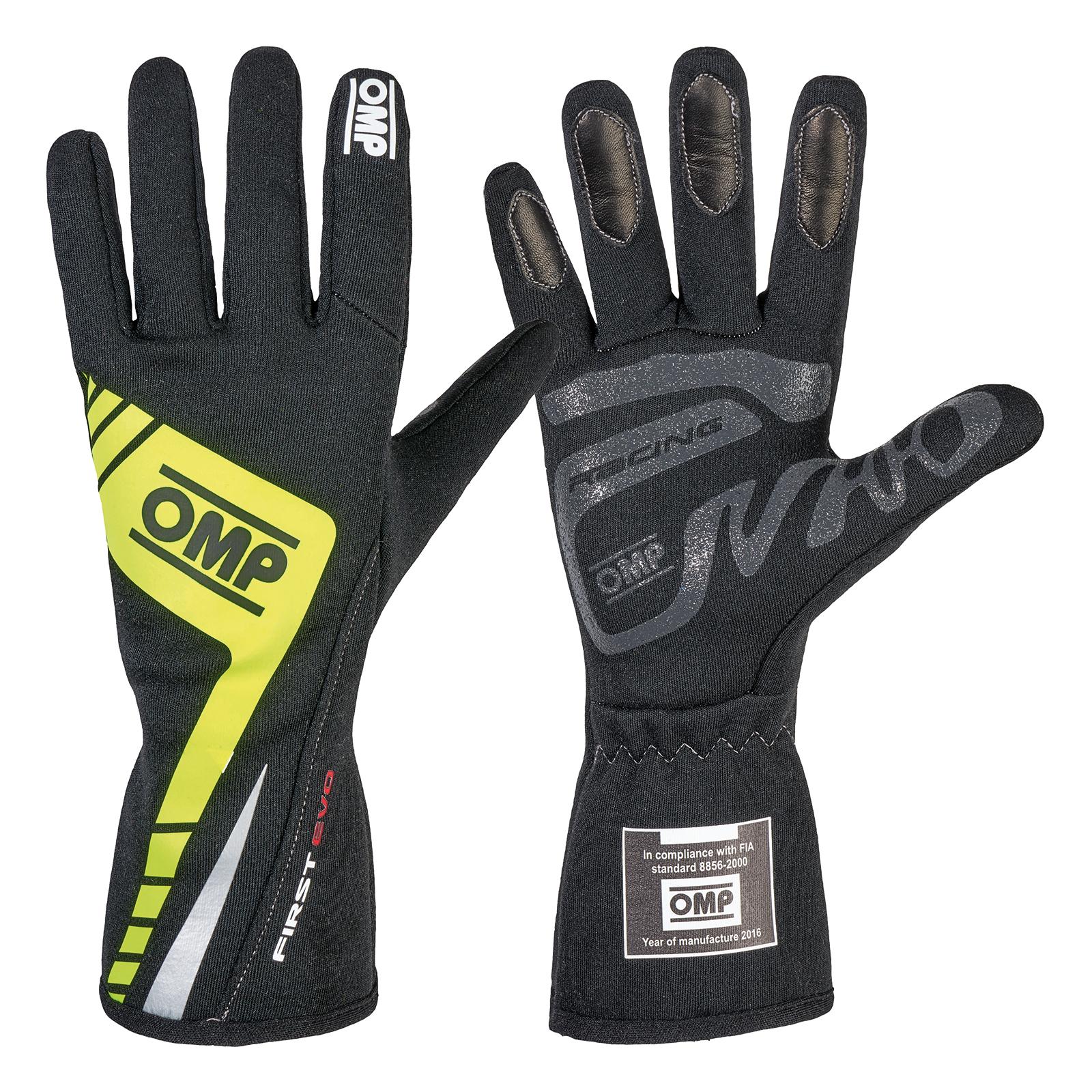 Omp First Evo Gloves Omp First Evo Racing Gloves Omp