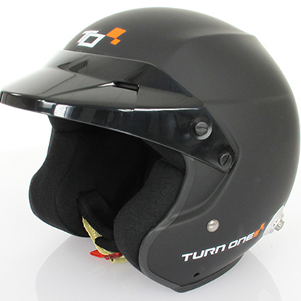 Turn One Jet-RS Helmet Matte Black