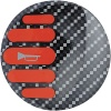 Sparco Red Carbon Horn Badge