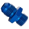 Goodridge -8 JIC to M18 x 1.5 Metric Male/Male Concave Adaptor