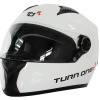 Turn One Full Face Karting Helmet White