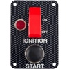 Grayston Ignition Starter Switch Panel Carbon