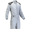 OMP First-S Race Suit Silver/Black