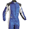OMP Tecnica Evo Race Suit Blue/White/Black