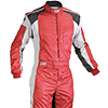 OMP Tecnica Evo Race Suit Red/White/Black