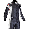 OMP Tecnica Evo Race Suit Black/White/Red