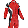 OMP Tecnica-S Race Suit Red/White/Black