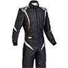 OMP One S1 Race Suit Black/White/Anthracite