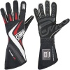 OMP One-S Race Gloves Black/White