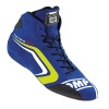 OMP Technica Evo Race Boots Blue/Yellow