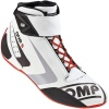 OMP One-S Race Boots White/Black