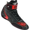 OMP First Evo Race Boots Anthracite/Red