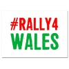 #Rally4Wales Sticker