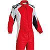 OMP First Evo Race Suit Red/White