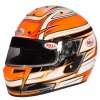Bell KC7-CMR Full Face Kart Helmet Venom Orange