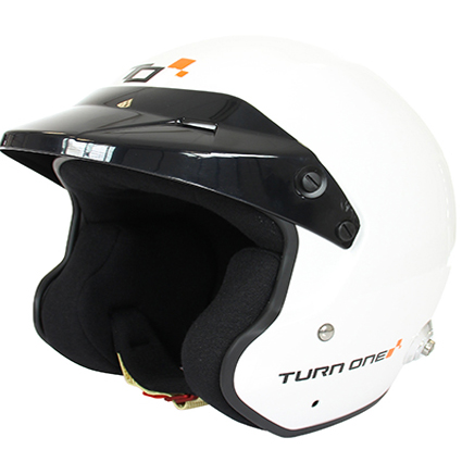 Turn One Jet-RS Helmet White