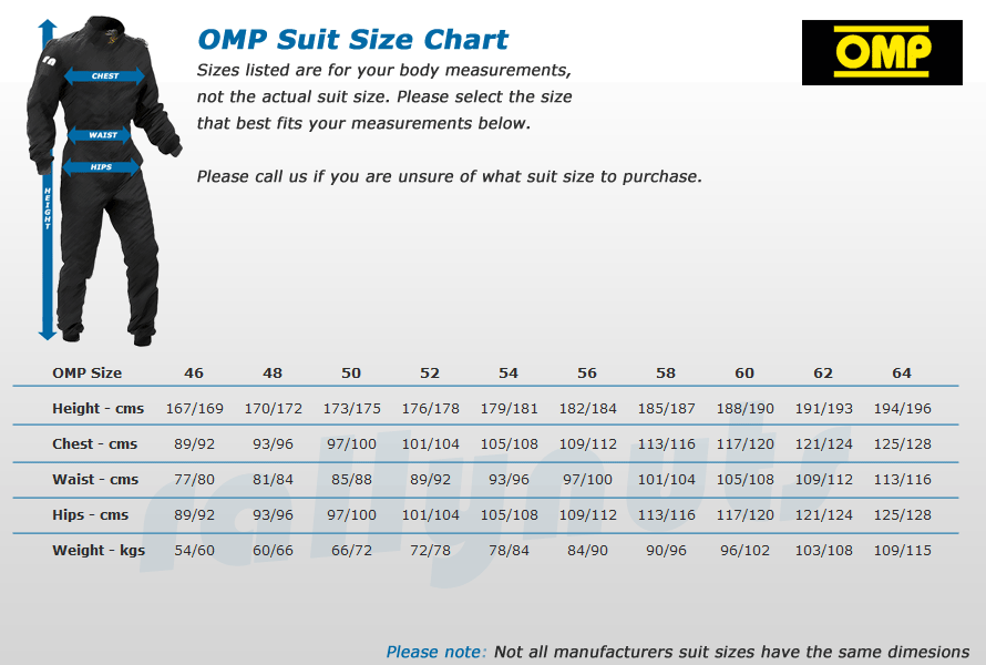 Sparco Racing Suits Size Chart Chart Sparco Race Suit