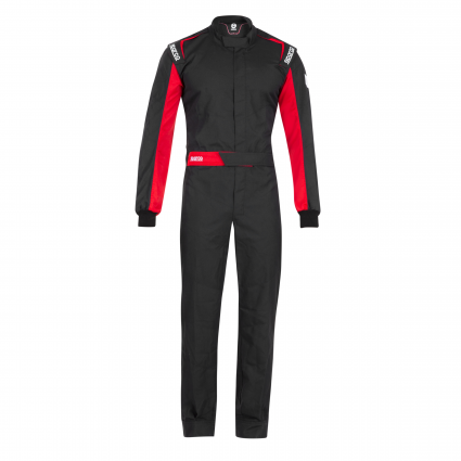 Sparco One (Non-FIA) Race Suit Black/Red