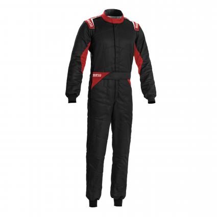 Sparco Sprint Race Suit Black/Red