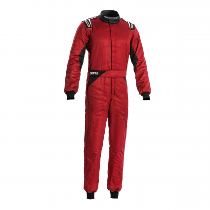 Sparco Sprint Race Suit Red/Black